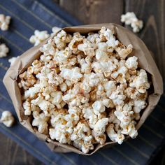 Cinnamon toast popcorn makes for perfect, simple snacking.