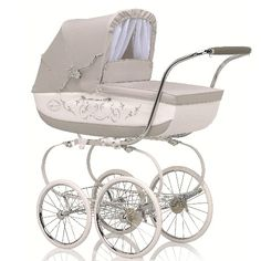 """40/"""" Coach Built Pram PREMIUM FITTED SHEET WHITE to fit Silver Cross BALMORAL"""