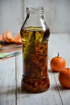 Huile d'olive parfumée, clémentine et poivre de Sichuan