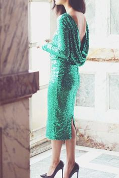 emerald green sequin wedding dress - brides of adelaide