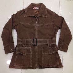 vintage 60/70s levis black tab big E jacket shirt for gals zipper talon SMALL size by bintangclothingstore on Etsy https://www.etsy.com/listing/471570054/vintage-6070s-levis-black-tab-big-e