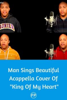 "David Wesley sings a stunning acapella cover of ""King Of My Heart"" today. #kingofmyheart #acapella #Christian #gospel #music"