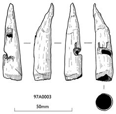 From http://www.alanesq.com/sidenock.htm :  I have received a copy of the archaeology diagram from the Mary Rose Trust, this gives accurate dimensions of the nock (i.e. 15mm wide and 65mm long)