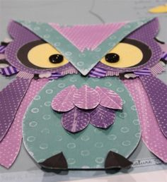 Paper Owl #owl #paper #craft #project