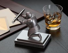 Executive Knight Pen Holder | ThinkGeek
