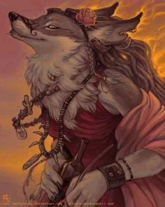 Yuletide wolfman