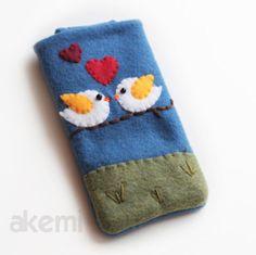 iPhone amore iPhone sentiva di dimensioni personalizzate Cover - disponibile-birdie di copertura - custodia per cellulare - iPhone 4 Cozy-Ha...