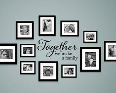 The Best Thing to hold onto in Life is each other Decal - Audrey Hepburn Quote - Gallery Wall Decor - home deco - Pictures on Wall ideas Family Wall Decor, Living Room Decor, Picture Wall Living Room, Family Room Decorating, Picture On The Wall, Family Wall Collage, Family Clock, Family Wall Quotes, Family Photo Collages