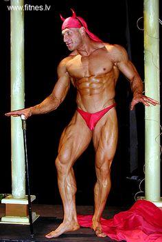 Top Worldwide Bodybuilders: Vladimir,o diabão
