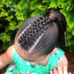 braids braids in 2020 Cute Hairstyles For Teens, Cute Little Girl Hairstyles, Girls Natural Hairstyles, Cool Braid Hairstyles, Easy Hairstyles For Long Hair, African Braids Hairstyles, Baddie Hairstyles, Teen Hairstyles, Natural Hair Braids