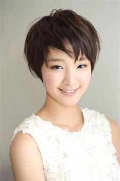 Gouriki Ayame short hair