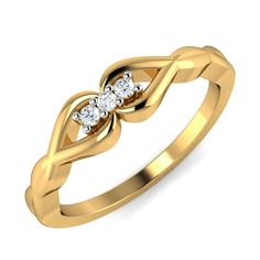27b1e2a0389 Diamond Ring Designs Real Certified Diamond 0.07 Ct Solid Gold Party