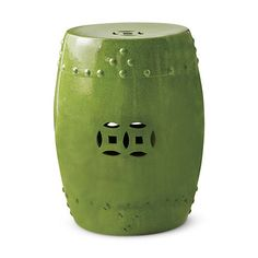 Green Garden Stool | Green Ceramic Stools | Green Porcelain Stool | Green  Ceramic Stool | Green Porcelain Stools | Green Pottery Stool | Green Pottu2026
