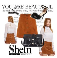 """Shein 7/10"" by zina1002 ❤ liked on Polyvore featuring Bobbi Brown Cosmetics"