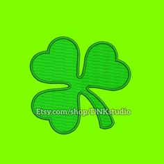 Clover Leaf Embroidery Design - 5 Sizes - INSTANT DOWNLOAD   This design manually made by hand, from start to finish. It is a digitized embroidery design for a buyer who has an embroidery sewing machine.  https://www.etsy.com/listing/506741652/clover-leaf-embroidery-design-5-sizes  #stitch #digitized #Sewing #Needlecraft #stitches #Embroidery #Applique #EmbroideryDesign #pattern #MachineEmbroidery #Clover #Leaf #flower #CloverLeaf