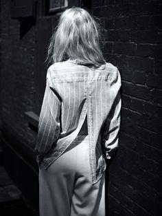Melissa Tammerjin photographed by Annemarieke van Drimmelen for Vogue Germany October 2013.