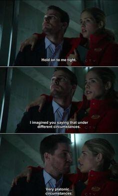 Arrow - Oliver/Felicity