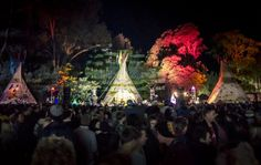 magical festivall tee pee