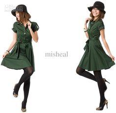 whimsical shirt dress
