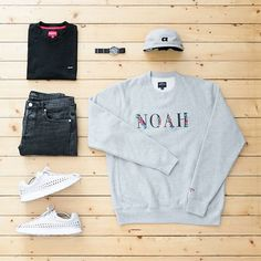 WEBSTA @ jaybeezishangintough - today's #outfitgrid #NOAH crewneck / #Supreme tee / #APC denim / #Nike mayfly woven / #ALIFE camp cap / #Seiko watch.@outfitgrid @dennistodisco #supremenewyork #apcparis #alifenewyork #noahNY #noahclothing #hypelife #hypeaf #hypebeast @hypebeast #ootd #outfitoftheday #streetwear #streetfashion #streetstyle #mensfashion #menswear #casuals #casualstyle #wdywt #basementapproved @basementapproved #suptalk @suptalk