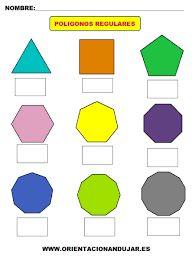 Resultado de imagen de poligonos regulares