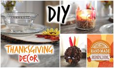 DIY Thanksgiving Decor ♡ Cute + Affordable