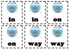 Reading Street Go Fish High Frequency Words First Grade Game