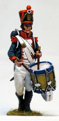NP 232 Tambor de granaderos de linea waterloo Lead Soldiers, Toy Soldiers, Napoleon, Military Uniforms, Shelf Life, Diorama, Hobbies, Drum, Weapons Guns
