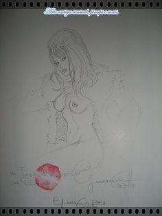 Arte antiga sensual, pinups e mais. | portfólio - Giovanna Casotto.
