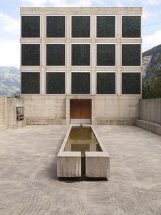 Place for Meditation by Johann Bossart with architects Guenard and Sanders