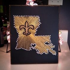 """louisiana"" string art template - Google Search"
