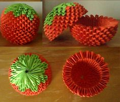 Tomato Box - chinese origami :)