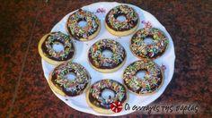 Εύκολα και υγιεινά donuts στο φούρνο #sintagespareas