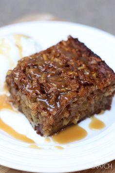 Fresh Apple Cake recipe on TastesBetterFromScratch.com