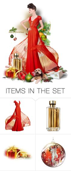 """""""Holiday Elegance Doll"""" by ellen-hilart ❤ liked on Polyvore featuring art"""