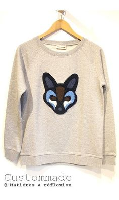 #soldes #onsale #Sweat #renard #fox #custommade