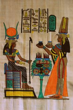 It is one of my favourites on this website. Ancient Egyptian Artifacts, Ancient Egypt Art, Old Egypt, Ancient History, European History, Ancient Aliens, Ancient Greece, American History, Papyrus