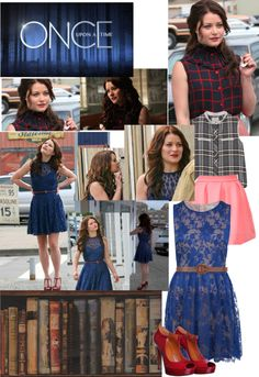 """""""Belle - Once Upon A Time"""" by mcdonnellh ❤ liked on Polyvore"""