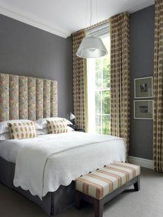 Dorset Square Hotel Bedroom. Kit Kemp designer. London. -via Interior Canvas