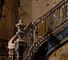 Derelict staircase - beautiful