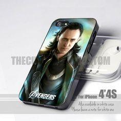 Tom Hiddleston Loki Print iPhone 4/4s