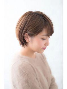 【GARDEN harajuku】高橋 苗 耳かけ小顔ショート スポンテニアス