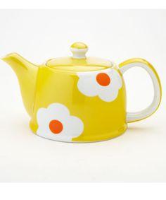 Yellow Daisy Teapot