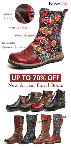 New arrival flower boots. New arrival flower boots. - - New arrival flower boots. New arrival flower boots. - New arrival flower boots. New arrival flower boots. Top Casual, Casual Boots, Fancy Shoes, Me Too Shoes, Heeled Boots, Shoe Boots, Ankle Boots, Women's Shoes, Best Boots For Men