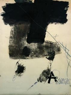 Antoni Tàpies. Empremta de màniga, 1974 Impresión de manga