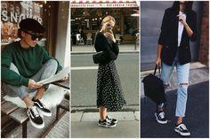 12 looks para você se inspirar com vans old school Vans Old School Preto, Tenis Old School, Old School Vans, Japan Fashion, Teen Fashion, Fashion Outfits, Street Look, Street Style, Old School Fashion
