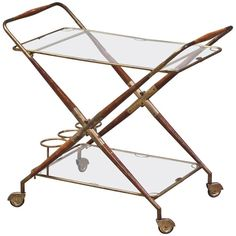 Shop carts and bar carts and other modern, antique and vintage tables from the world's best furniture dealers. Table Furniture, Cool Furniture, Drink Cart, Bar Carts, Vintage Table, Drafting Desk, 1950s, Tables, Antiques
