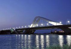 Sheikh Zayed Bridge   Location: Dubai, Emirates on the map  When built: 2010; Height: 63м; Length: 842m