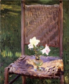The Old Chair - John Singer Sargent