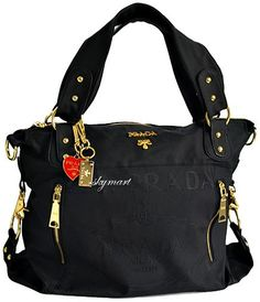 prada canvas handbag - Womens handbags on Pinterest | Chanel Handbags, Prada Handbags and ...